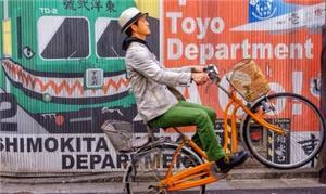 Fotógrafo japonês usa a bike para série fotográfic