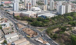 Fotos das obras de mobilidade urbana em Cuiabá