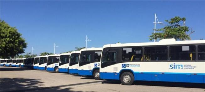 Frota de ônibus em Florianópolis (SC)