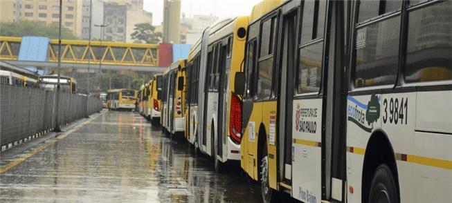 Frota de ônibus não poluentes, um direito da popul