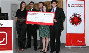 Ganhadores do prêmio internacional EDP University