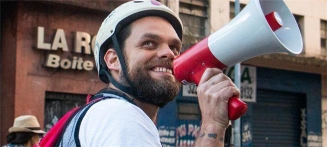 Goura: nos protestos, ouvindo as queixas dos cicli