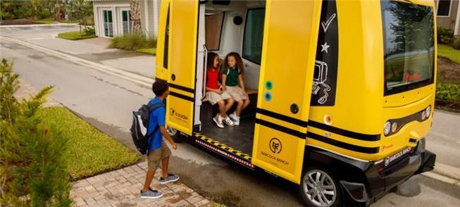 Governo americano suspende teste com ônibus escola