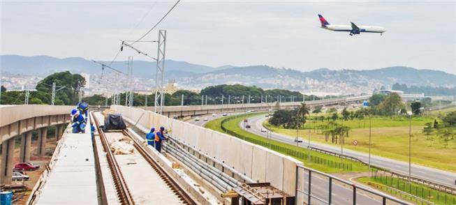 Governo anuncia início de operação do trem até o A