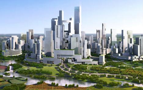 Great City, cidade do futuro. Sem carros.