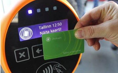 Green Card, na Estônia, o cartão do transporte gra