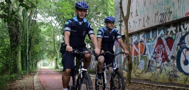 Guarda Municipal faz segurança em ciclovias no PR