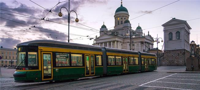 Helsinque: rede de transportes interligada e de qu