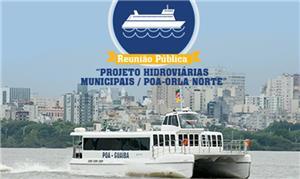 Hidrovias municipais: projeto prevê 11 estações na