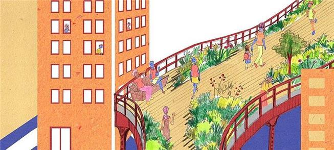 High Line, em Nova York: um parque sobre antiga vi