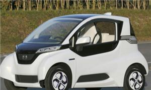 Honda está testando no Japão um míni carro elétric