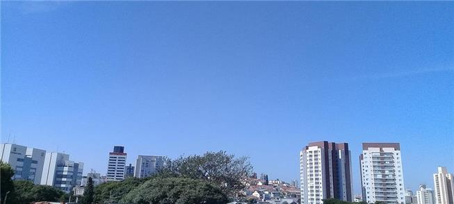 Horizonte ao norte da cidade de São Paulo