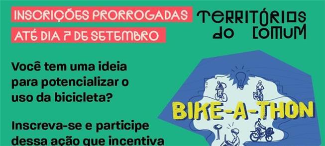 Ideias para uso da bike? Inscrições prorrogadas at