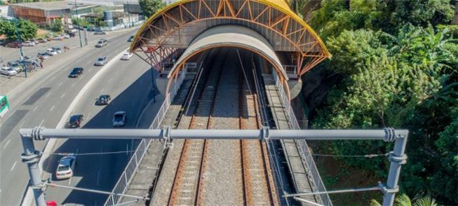 Imagem de estação em Salvador feita a partir de dr
