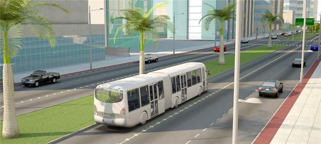Imagem ilustrativa do BRT da Grande Vitória