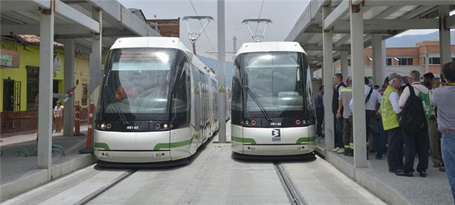 Inauguração de linha de VLP em Medellín, na Colômb