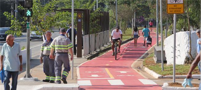 Integração bicicleta e transporte público