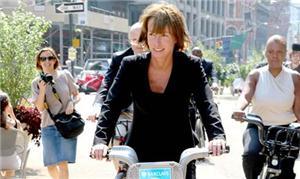 Janette em NY: 450 km de ciclovia à cidade nos últ