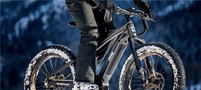 Jeep E-Bike: uma bicicleta fora de estrada