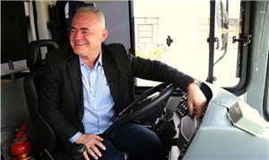 Josué Ramos, defensor do transporte tarifa-zero