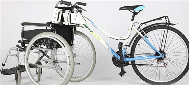 Kit permite encaixar a cadeira de rodas em qualque