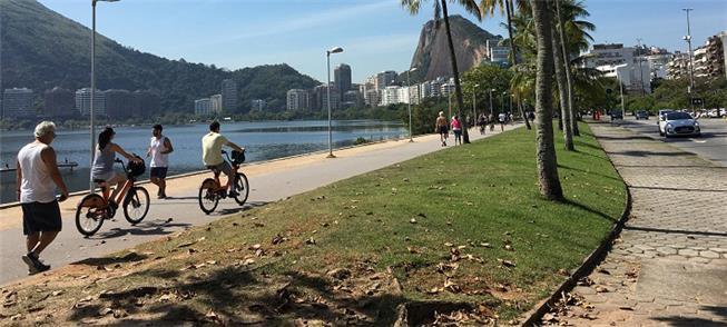 Foto da Lagoa Rodrigo de Freitas/RJ
