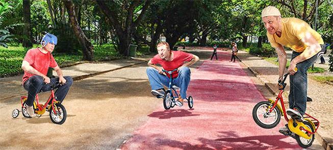 Liberem as bicicletas nos parques de Belo Horizont