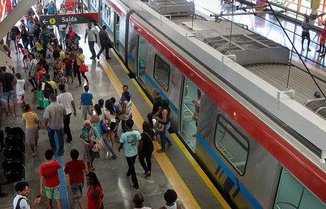 Linha 1 do metrô está em obras