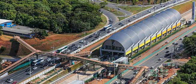 Linha 2 do Metrô de Salvador: em um ano, aumento d