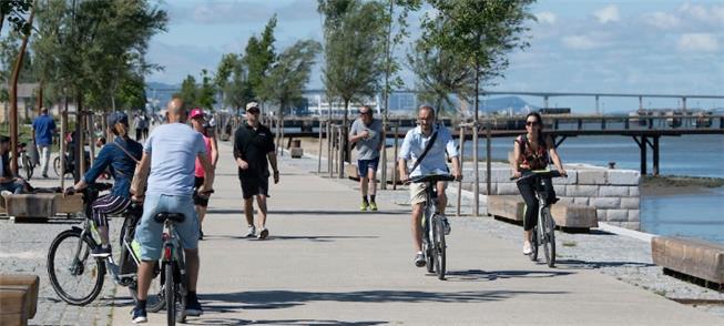 Lisboa: ruas são acessíveis à maioria dos ciclista