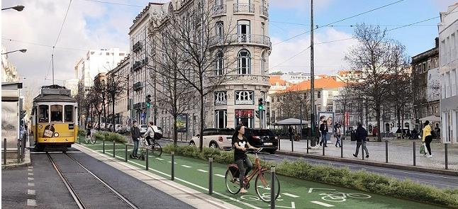 Lisboa terá zona sem carros a partir de junho