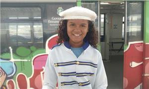 Luana Martins, aluna da 5ª série