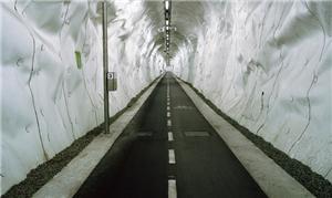 Maior túnel cotidiano de bicicleta do mundo