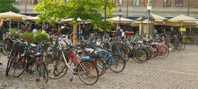 Malmö investiu em programas de bicicletas comparti