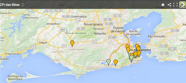 Mapa colaborativo mostra demandas e denúncias