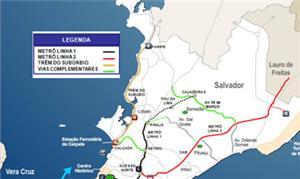 Mapa Mobilidade Salvador