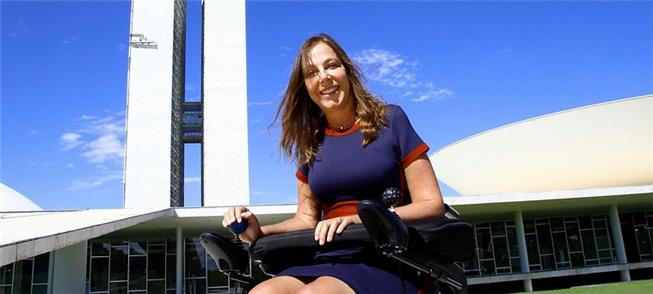 Mara Gabrilli, senadora em defesa das pessoas com