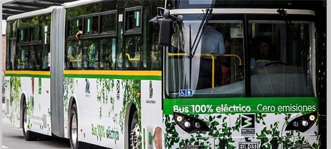 Medellín: cidade já tem 64 ônibus elétricos em ope
