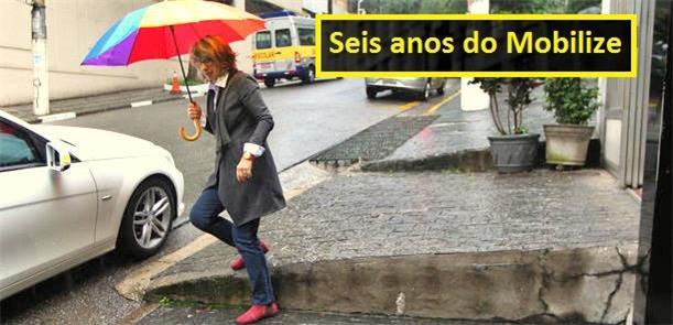 Meli enfrenta as calçadas nos Jardins, em São Paul