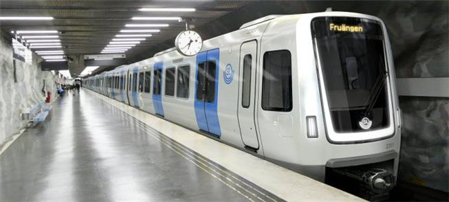 Metrô de Estocolmo terá novos trens