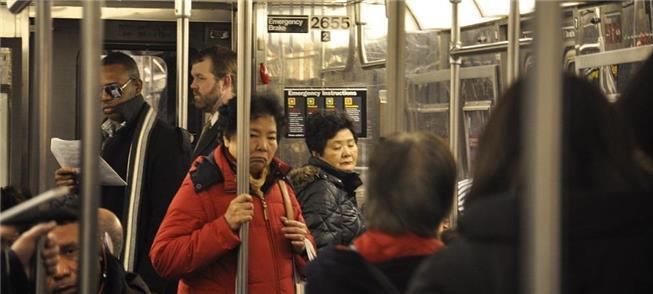 Metrô de Nova York: apoio na crise