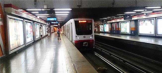 Metrô de Santiago adotará fontes solares e eólicas