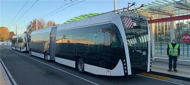 Metromare: linha de BRTs elétricos com trólebus, n