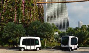 Miniônibus sem motorista vão trafegar em Helsinque