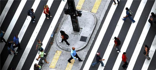 Mobilidade a pé ganha destaque em discussões sobre