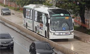 Modelo de BRT a ser implantado em Belém