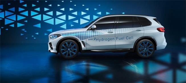 Modelo de carro movido a hidrogênio, do tipo fuel-