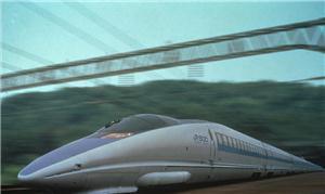 Modelo de trem bala a ser implantado no Brasil fut