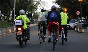 Moto e bicicletas no desafio intermodal: percurso