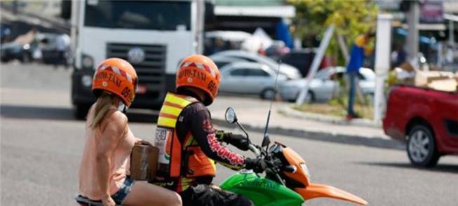 Mototaxista: agora via app?